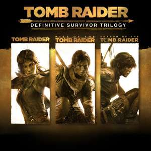 Tomb Raider: Definitive Survivor Trilogy [PS4] £17.99 with PS+ @ PlayStation Store