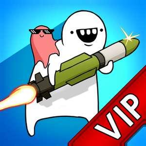 [VIP]Missile Dude RPG : Offline tap tap hero £1.59 @ Google play