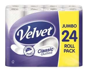 Velvet quilted 24 rolls £5.99 Lidl Alnwick