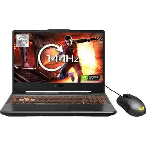 "ASUS TUF FX506LH 15.6"" FHD IPS 144Hz i5 10300H 8GB 512GB SSD GTX1650 Gaming Laptop, £584.10 with code at AO - UK Mainland"