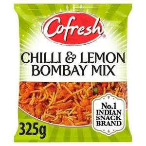 Cofresh Mild Bombay Mix / Chilli & Lemon Bombay Mix Snacks 325g 75p each @ Asda