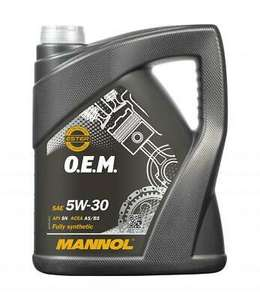 2x5L 5w30 Fully Synthetic Engine Oil - £23.19 (UK Mainland) @ lubriagecarpartsaccessories ebay (UK Mainland)