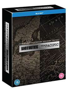 The Pacific / Band Of Brothers [Blu-ray] - £19.99 Prime / +£2.99 non Prime @ Amazon