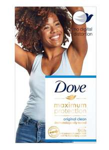 Dove Maximum Protection Original Clean £2.57 @ Waitrose and partners