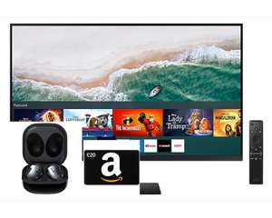 """Samsung M50A 27"""" Smart Monitor with remote and speakers + Galaxy Buds Live + £20 Amazon Voucher £143.20 via SB/Unidays/Totum @ Samsung"""