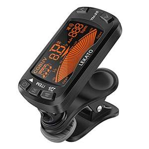 LEKATO Clip On Tuner Metronome 3 in 1 Guitar Tuner £9.99 prime + £4.49 non prime Dispatches from Amazon Sold by ZMUK