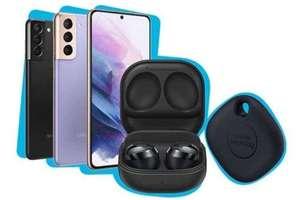 Samsung Galaxy S21 5G Smartphone SIM Free Android Mobile Phone Phantom White 128GB + Buds Pro Headphones & SmartTag - £600 @ Amazon