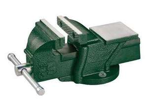 Cast Iron 100mm Jaw 50mm Depth Parkside Bench Vice, £19.99 instore from 26th September at Lidl