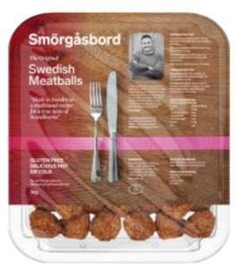 Smörgåsbord Swedish Meatballs 1Kg for £3.39 (in-store) Membership Required @ Costco