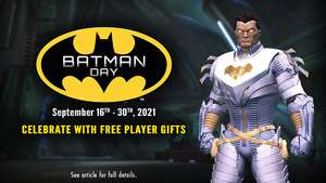 Batman Day Gifts [Xbox, PlayStation, Switch + PC] Free @ DC Universe Online