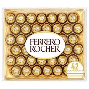 Ferrero Rocher Chocolate Gift Box, 42 Chocolates £10.06 (+£4.49 non-prime) @ Amazon