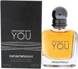 Emporio Armani Stronger With You 50ml Eau de Toilette 1.7 Fl.Oz EDT - £33 @ Amazon