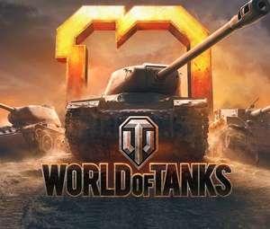 Matilda BP, Tiger 131, Sherman Firefly, Centurion 5/1, 7 days premium, 250,000 credits, Tankfest camo free on signup @ World of Tanks
