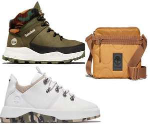 Extra 20% off + Stacks with Extra 10% off with Codes + Free Mainland UK Delivery and Returns From Timberland