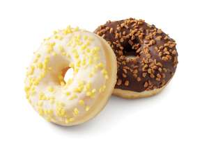 Filled Ring Doughnuts (Lemon or Salted Caramel) 49p Each or 3 for £1 @ Lidl (Tamworth Store)
