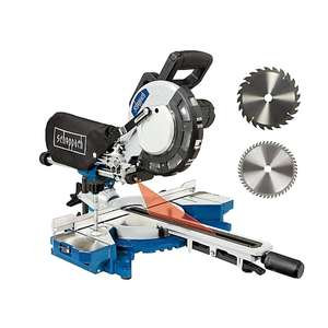 Scheppach 210mm Mitre saw £94 Delivered Using £5 off Code For New Club Members + Extra 10% Discount @ B&Q