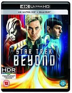 Star Trek Beyond 4K HDR Dolby Atmos £6.51 + £2.99 NP @ Amazon