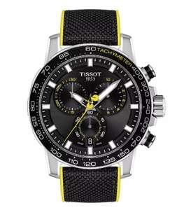 Tissot Supersport Men's Black Leather Strap Watch (TDF) £259 @ Ernest Jones