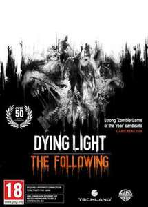 [Steam] Dying Light: The Following Expansion Pack (PC) - £2.49 @ CDKeys