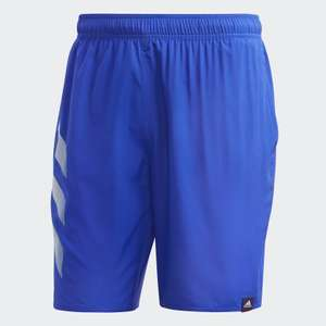 Men's Adidas Bold 3 -Stripes Clx Swim Shorts Now £7 with code Free delivery with Creators club @ Adidas