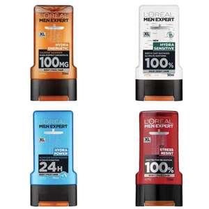 300ml L'Oréal Men Expert Shower Gel (7 Varieties) - £1.34 + Free Click & Collect @ Superdrug