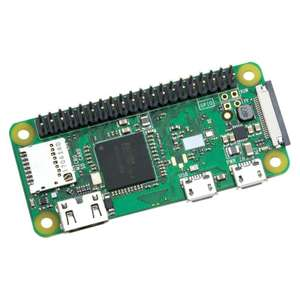 Raspberry Pi Zero WH (with pre-soldered header) £13.50 + £2.99 delivery @ The Pi Hut