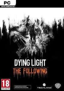 [Steam] Dying Light: The Following Enhanced Edition Inc Base Game, Season Pass + More (PC) - £4.49 @ CDKeys