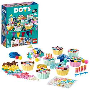 LEGO DOTS 41926 Creative Party Kit with Cupcakes, Birthday Gift Set £14.99 with voucher at Amazon