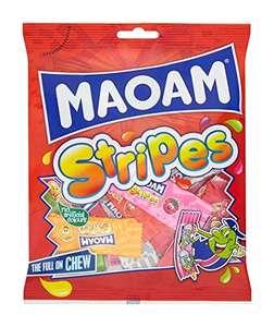 Maoam Stripes Fruit Sweets, 140g - 82p (+£4.49 Non-Prime) @ Amazon