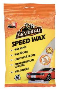 Armor All Speed Wax Wipes - £3.92 @ Halfords (Free Click & Collect)