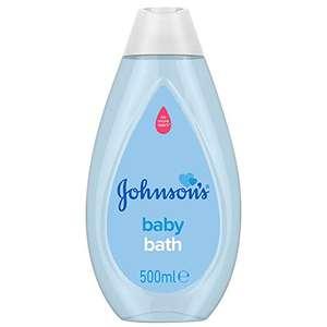 JOHNSON'S Baby Bath 500 ml - £1.50 (+£4.49 non-prime) @ Amazon