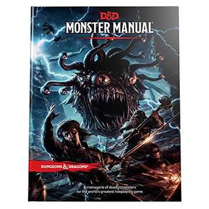 Dungeons & Dragons Core Rulebook: Monster Manual - £28.51 + £4.49 Non-Prime @ Amazon