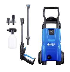Nilfisk Compact C110 Pressure Washer - £66.28/ Car Pressure Washer Bundle - £89.98 + Free Connector Kit @ Cleanstore