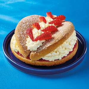 Fresh Cream Butterfly Sponge Cake £1.35 / Mowbray pork pie £1.50 @ Morrisons instore