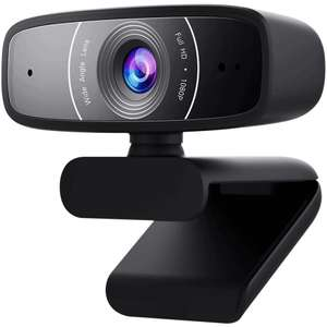 ASUS USB camera with 1080p 30fps recording, beamforming microphone for better live-streaming video and audio quality £39.94 delivered @ Box