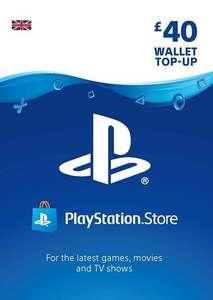 PSN Gift Cards 40GBP - £33.84 / 30GBP - £25.79 / 15GBP - £12.99 using code + More in OP@ Eneba / Zero Zero