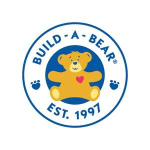 Free Delivery if you spend £15 or over - today only @ Build-A-Bear Workshop
