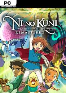 Ni No Kuni Wrath Of The White Witch Remastered PC £8.49 at CDKeys