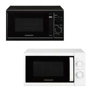 Cookology 20L 800W Freestanding Microwave In Black or White - £43.99 Delivered Using Code (UK Mainland) @ thewrightbuyltd / eBay