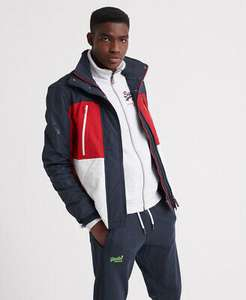 Superdry Mens Polar Downhill Attacker Jacket £47.59 delivered with code @ eBay/Superdry
