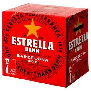 Estrella Damm Lager Beer 12 x 330ml Pack - £11.97 @ Asda