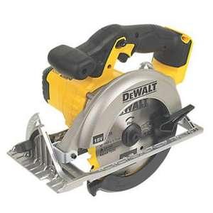 DeWalt DCS391 165MM 18V Li-Ion XR Cordless Circular Saw (Bare Unit) £99.88 with code @ abbeypower ebay