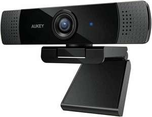 Aukey Full HD (1080p) Webcam For Video Chat With Stereo Microphone £21.59 delivered with code @ tattyboxsupplies / ebay