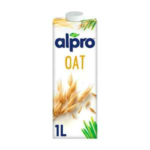 Alpro Almond / Oat / Coconut / Hazelnut 1 litre long life drinks for £1 at Sainsbury's (Sep 22 - Oct 12)