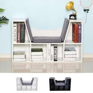 Bookcase Storage Reading Seat Unit Kids Adults Six Cubes Organiser Relaxation £42.39 at 2011homcom ebay