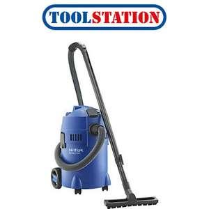 Nilfisk Buddy II 18T Wet & Dry Vacuum Cleaner With Power Tool Socket £61.18 at toolstation_ltd ebay