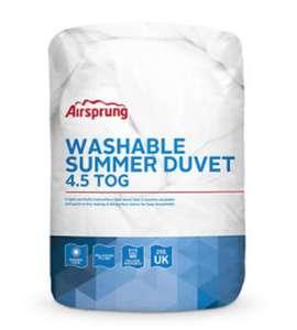 Airsprung 4.5 Tog King Duvet for 79p Instore @ Asda Bolton