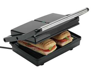 Cookworks 2 Portion Panini Press 1080W - £14.99 (Free click & collect) @ Argos