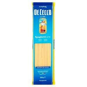 De Cecco Fusilli, Linguine, Spaghetti, Tortiglioni, & Rigate Pasta 500g £1.00 @ Sainsburys