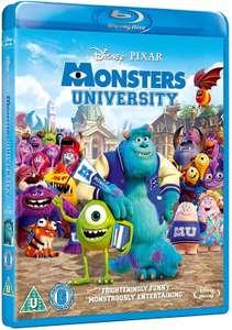 Monsters University BLU-RAY £3.06 @ Rarewaves